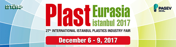 We are pleased to welcome you to visit our booth at Plast Eurasia Istanbul 2017!
